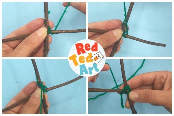 yarn wrapping sticks