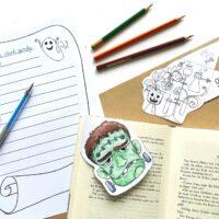 Frankenstein literacy activities