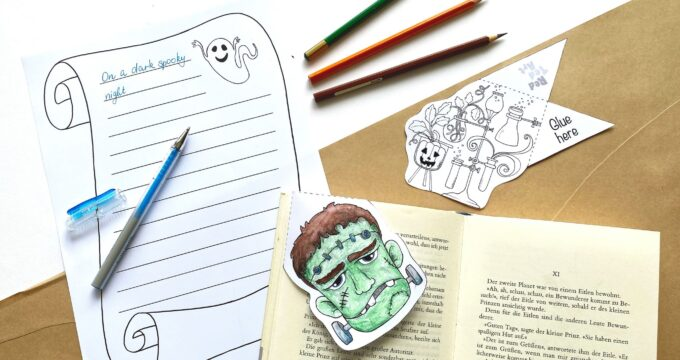 Frankenstein literacy activities