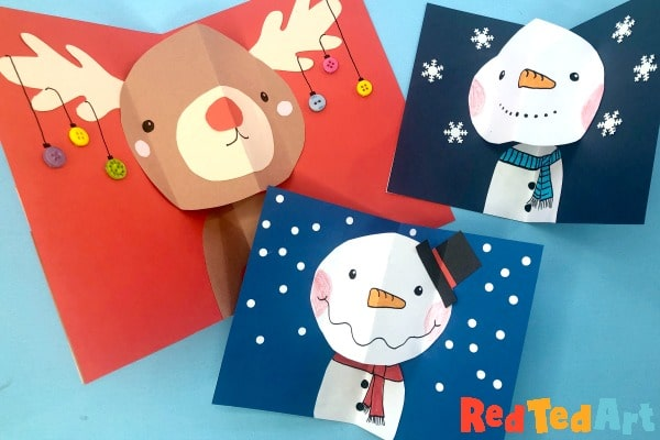 Christmas cards A5 and A6