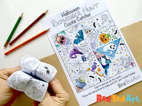 HP: Printable Halloween Coloring Pages and Crafts