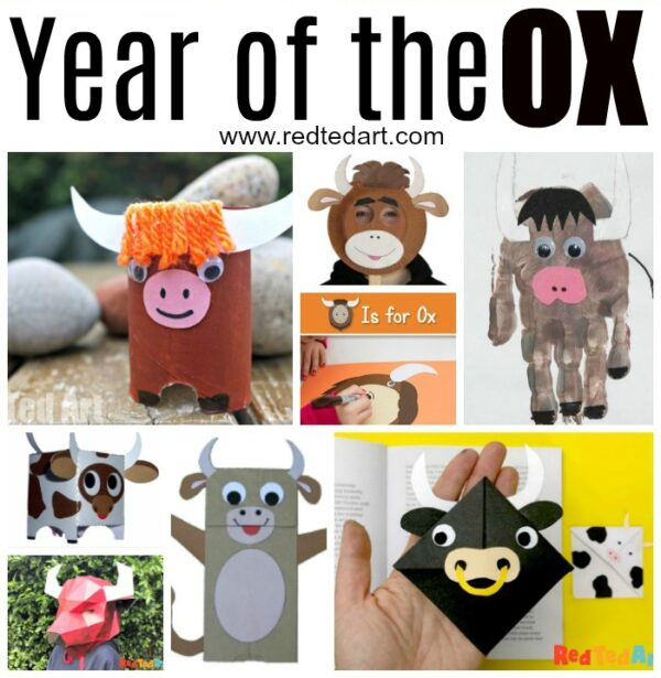 Chinese Zodiac Crafts- Year of the Ox Crafts