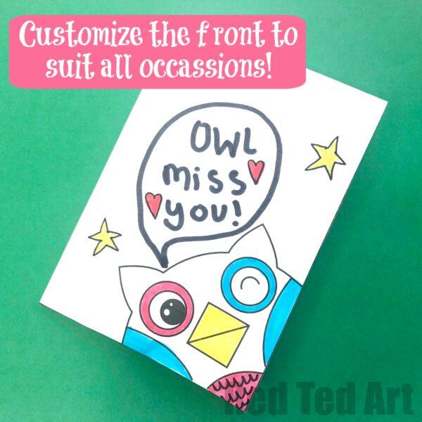 Owl Card Puns