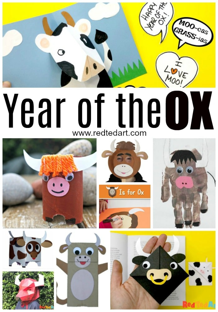 Chinese New Year OX Crafts