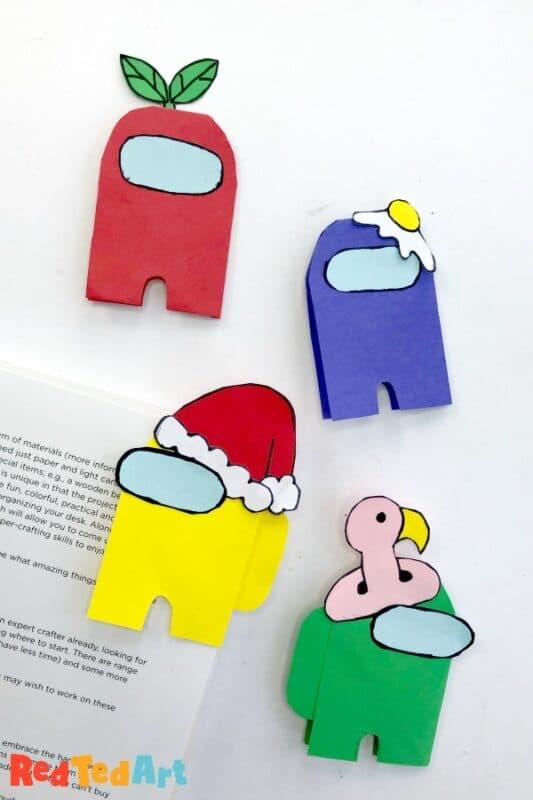 among us bookmark