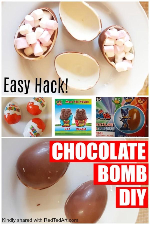 Chocolat Bomb DIY Hack