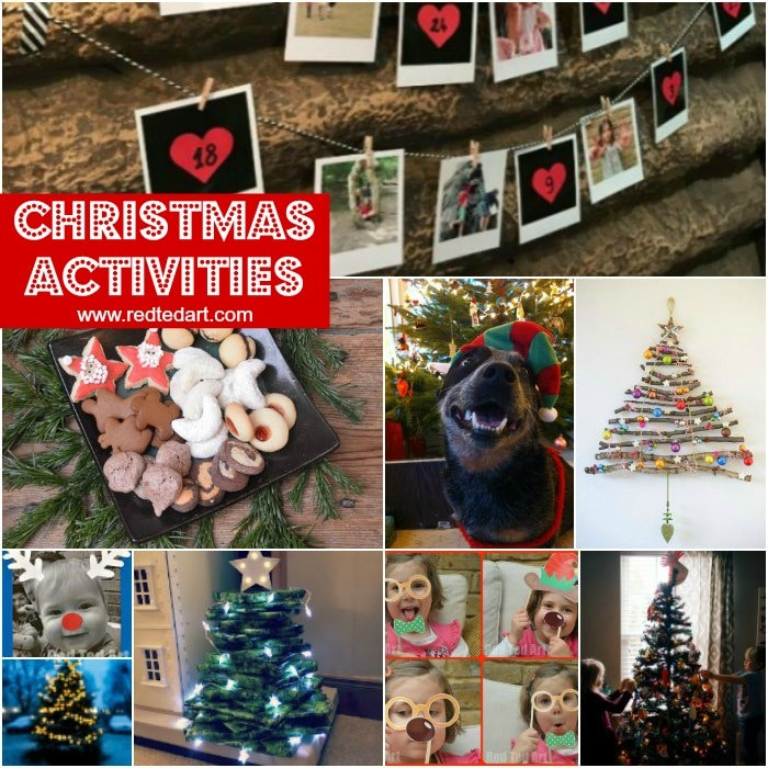 Social Distance Christmas Activities For Families During Covid 19 Red Ted Art Make Crafting With Kids Easy Fun