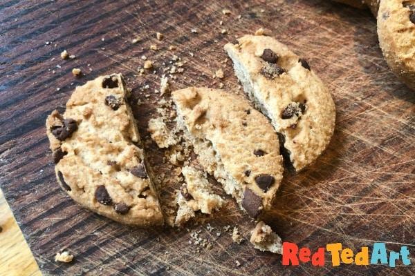 half cookies