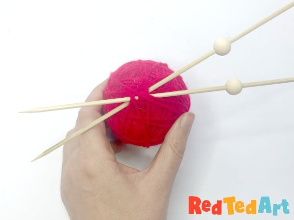 making your own knitting needles