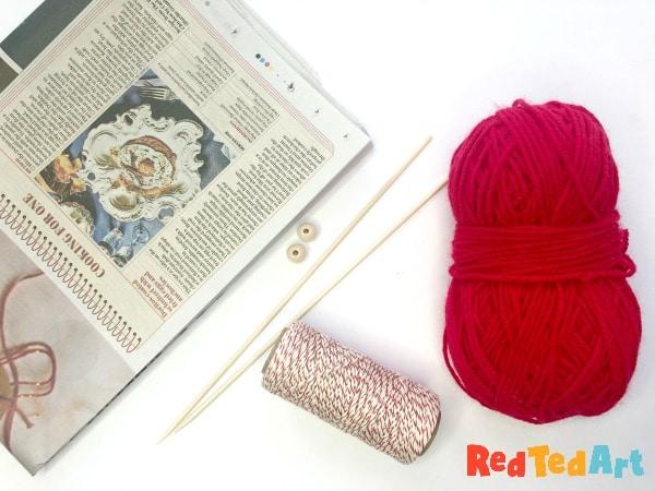 Yarn balls materials