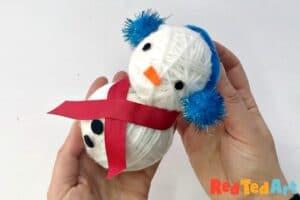 cute snowman diy