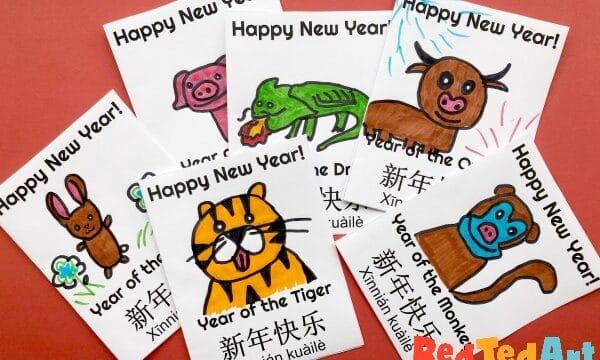 Zodiac Animal Cards