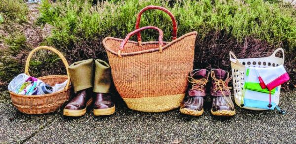 foraging gift baskets