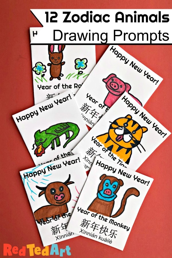 Zodica Animals Greeting Cards