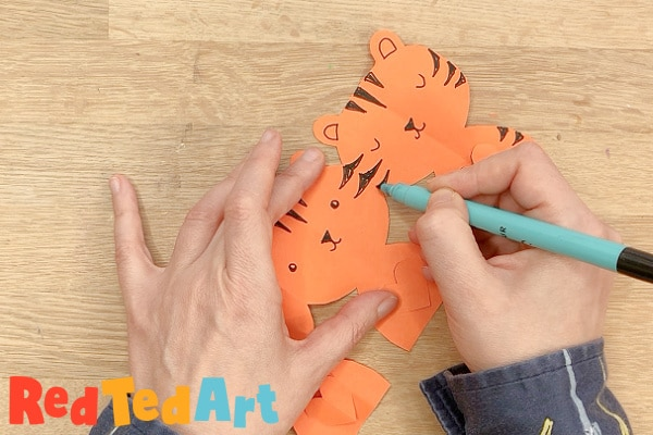 decorate the paper tiger
