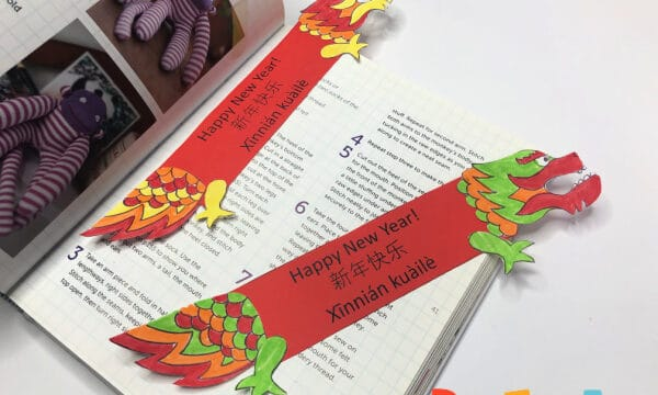 dragon bookmarks
