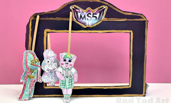 The Masked Singer puppet theater craft
