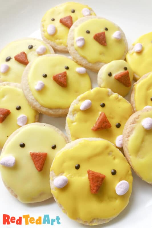 Easter Cookies Chicks