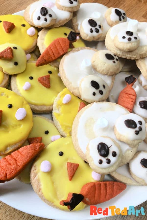 Bunny Cookies Easy