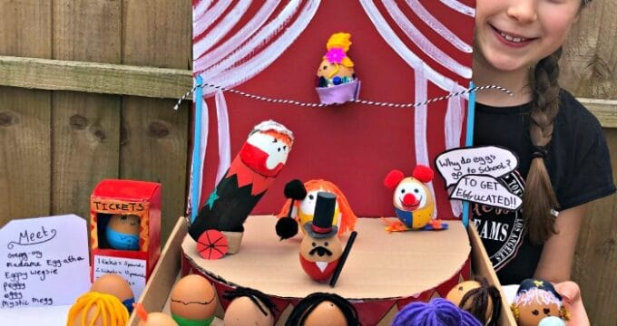 Egg Decorating Competition - Circus Eggs
