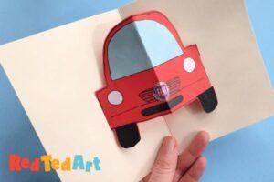 Pop up car crafts