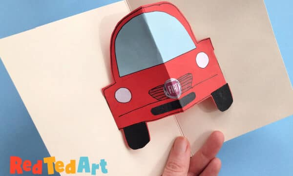 Pop up car crafts