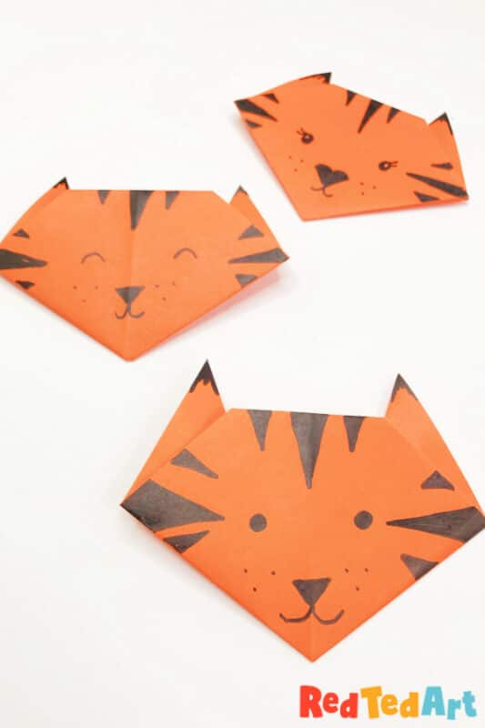 Tiger Origami