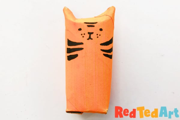 Finished TP Roll Tiger
