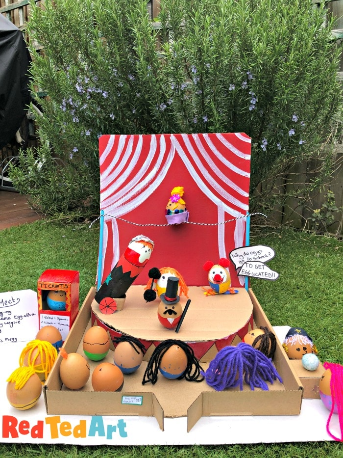 Egg Decorating Competition - Circus