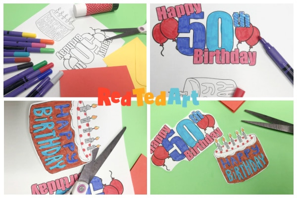 Print and colour your birthday number