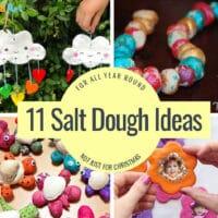 Salt dough ideas for kids