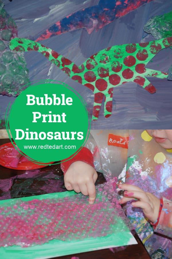 Dinosaur art for preschoolers