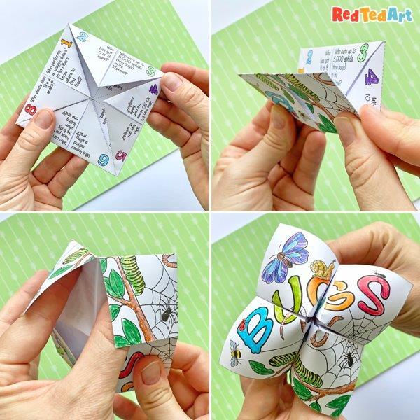 fold the fortune teller