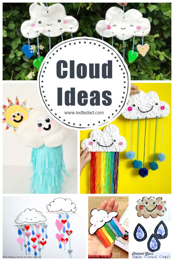 cloud crafts for kids