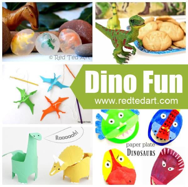 Toddler Dinosaur Crafts