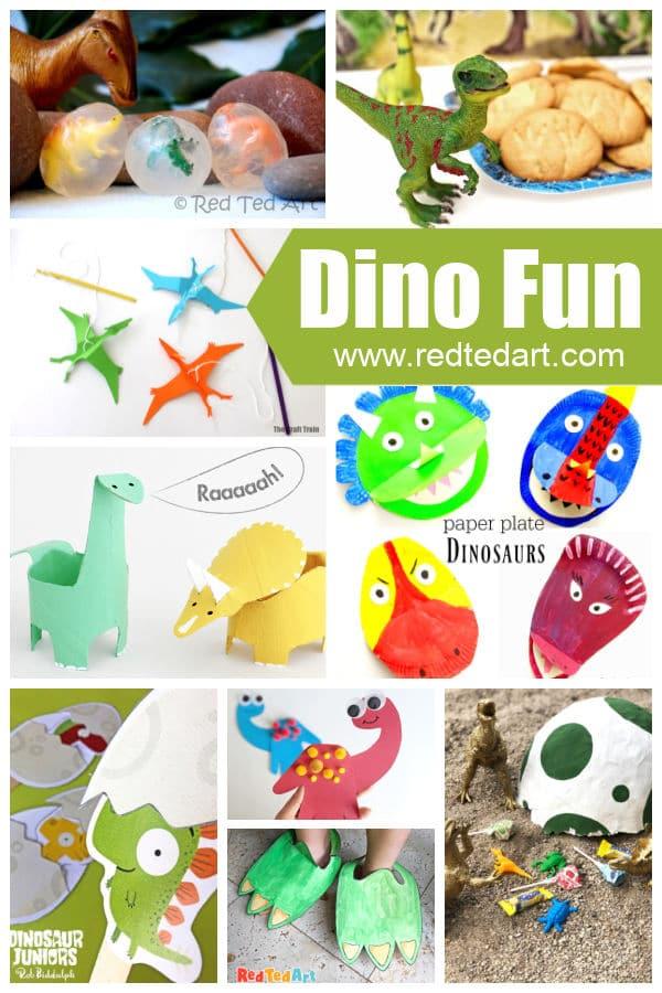 Dinosaur Crafts for Preschool