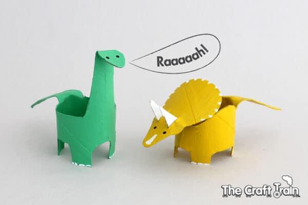 toilet Roll Dinosaurs