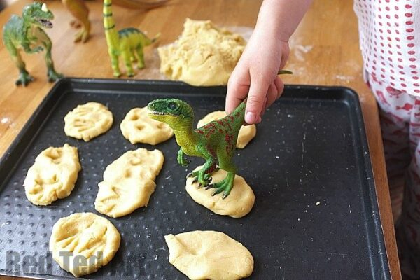 dinosaur cookies print making