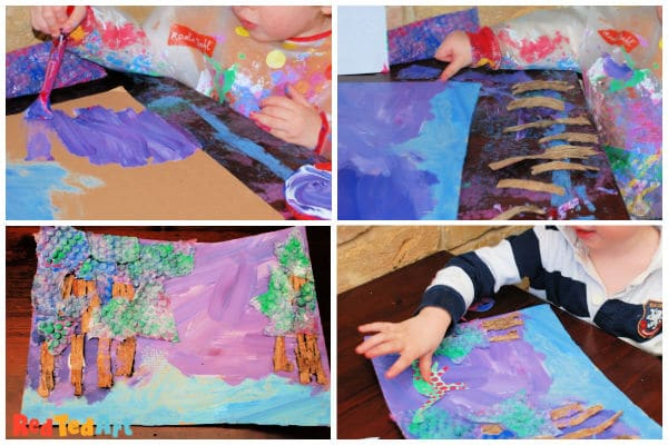 toddler collages