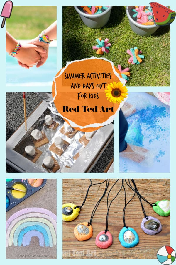 Summer Activities for kids - a collection of fun summer ideas
