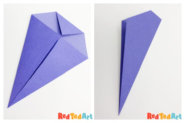 Next step in making a paper whale