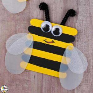 craft stick bee