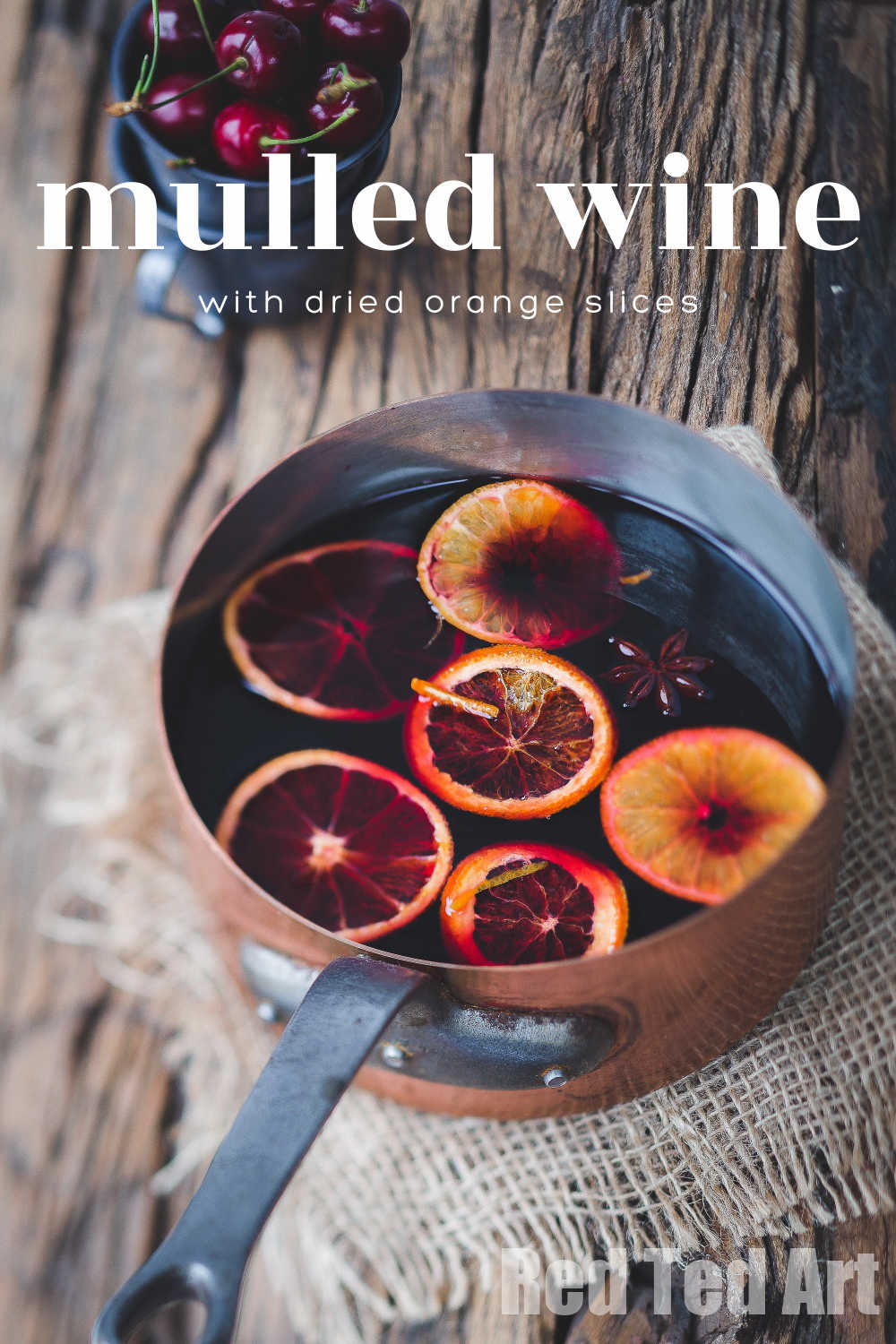 mulled wine diy gifts
