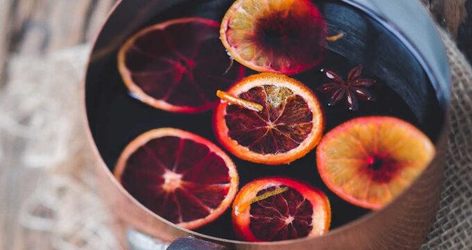 orange slice wine