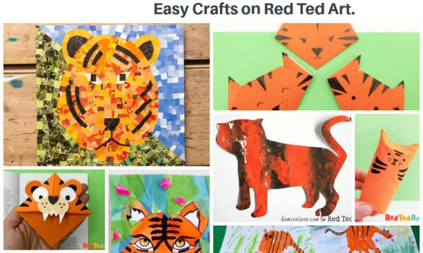 year of the tiger crafts