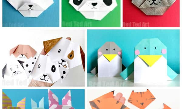 easy origami animals for beginners