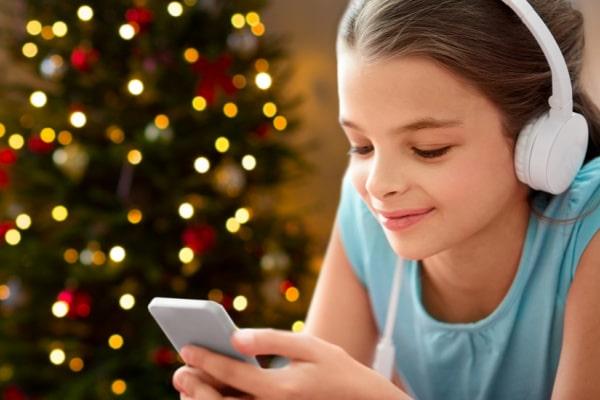Create a christmas playlist